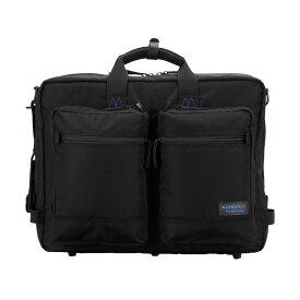 MANHATTAN PASSAGE BUSINESS BAG マンハッタンパッセージ バッグ ショルダーバッグ ビジネスバッグ ブリーフケース メンズ 24L ブラック 黒 8003-K