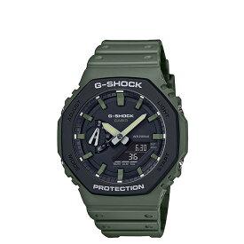 【最大1000円OFFクーポン】 CASIO G-SHOCK カシオ 腕時計 GA-2110SU-3AJF メンズ レディース カーキ