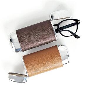 【最大1000円OFFクーポン】 Orobianco GLASSES CASE オロビアンコ メガネケース 眼鏡ケース サングラス メンズ レディース 別注 本革 ブラック グレー ネイビー グリーン オレンジ 黒 OBGC-007