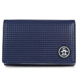 Munsingwear CARD CASE マンシングウェア カードケース 名刺入れ 定期入れ メンズ レディース 撥水 抗菌 防臭 ブラック ネイビー 黒 MU-5060119