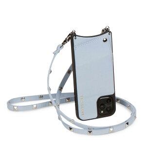 【最大1000円OFFクーポン】 BANDOLIER SARAH LIGHT BLUE バンドリヤー iPhone SE SE2 8 7 6s 6 ケース スマホ 携帯 ショルダー アイフォン サラ メンズ レディース レザー ライト ブルー 10SALBUS