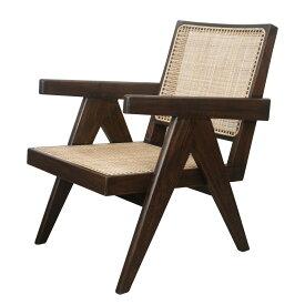 【最大1000円OFFクーポン】 Pierre Jeanneret EASY CHAIR ピエール ジャンヌレ 椅子 木製 リプロダクト レプリカ ヴィンテージ イス いす 103