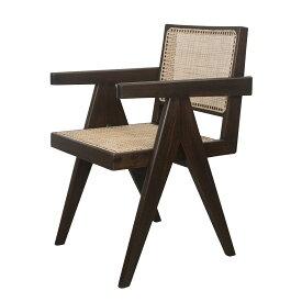 【最大1000円OFFクーポン】 Pierre Jeanneret OFFICE KING CHAIR ピエール ジャンヌレ 椅子 木製 リプロダクト レプリカ ヴィンテージ イス いす 104