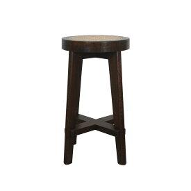 【最大1000円OFFクーポン】 Pierre Jeanneret CANED STOOL ピエール ジャンヌレ スツール 椅子 木製 リプロダクト レプリカ ヴィンテージ イス いす 135