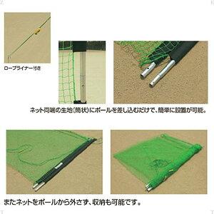 ZETTゼットネット野球&ソフト野球用バックネット(7x3m)BM9037