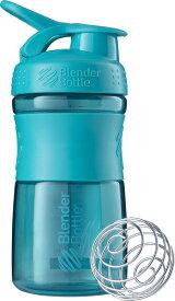 Blender Bottle SPORTSMIXER ブレンダーボトル プロテイン シェイカー ボトル スポーツミキサー 600ml ライトブルー BBSME20 [192]