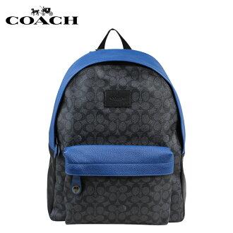 COACH教练人包帆布背包背包时装店商品72051木炭×粗斜纹布