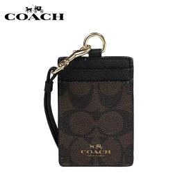 COACH コーチ パスケース カードケース 定期入れ F63274 ブラウン×ブラック レディース