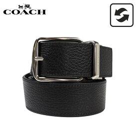 COACH F64840 コーチ ベルト メンズ 本革 レザー リバーシブル ビジネス ブラック ブラウン