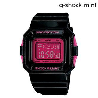 凱西歐凱西歐 g 衝擊迷你女士 GMN-550-1BJR 手錶 g 衝擊迷你男裝黑色粉紅色 [10/9 添加在股票]