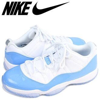 a9521fd1a6b NIKE Nike Air Jordan 11 low sneakers AIR JORDAN 11 LOW UNIVERSITY BLUE men  528,895-