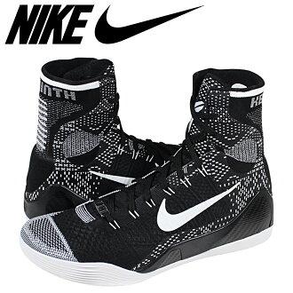 NIKE耐克运动鞋KOBE 9 ELITE HIGH BHM 704304-010黑色人