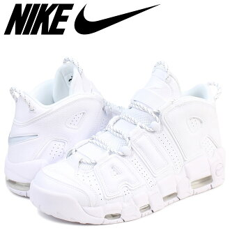 cb000468a3 NIKE Nike up tempo sneakers AIR MORE UPTEMPO 96 921,948-100 men's shoes  white