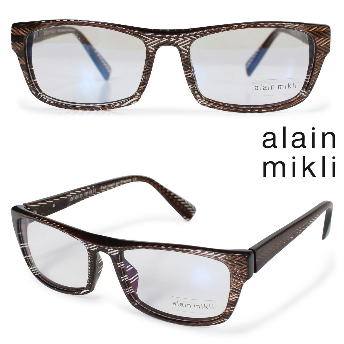 alain mikli アランミクリ メガネ メガネフレーム 眼鏡 フランス製 メンズ レディース [1712]