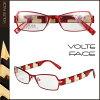 20%OFF ボルトファース VOLTE FACE メガネ [ レッド×ホワイト ] MOOD セルフレーム メンズ レディース ユニセックス 眼鏡 [ 正規 ]