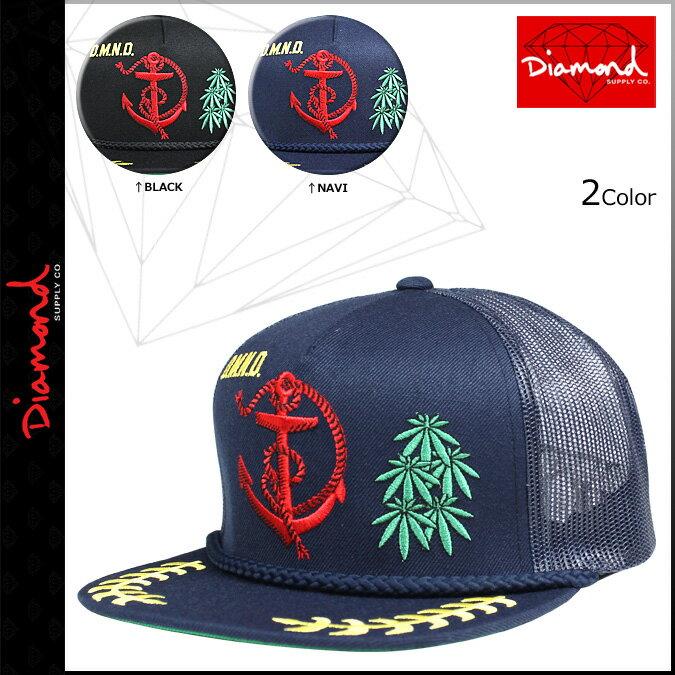 Diamond Supply Co ダイヤモンドサプライ スナップバック キャップ 2カラー ADMIRAL MESH HAT メンズ