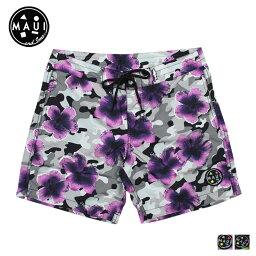 毛伊島和兒子毛伊島和兒子泳裝男裝衝浪褲游泳褲,到 2015 年,新 2 色迷彩綻放