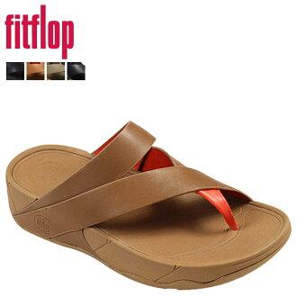 适合触发器 FitFlop 妇女吊带凉鞋皮革吊索皮革凉鞋 186