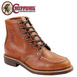 Chippewa CHIPPEWA 6 inch MOC to boots [Oro Russett] 99822 6INCH MOC TOE BOOT D wise leather men's [regular]