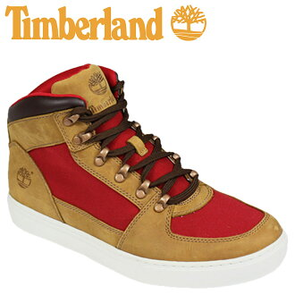 [SOLD OUT]timbarando Timberland地線守門員新市場2.0茶杯徒步旅行者舌頭紅EARTHKEEPERS NEW MARKET 2.0 CUP HIKER反毛皮帆布6862R人