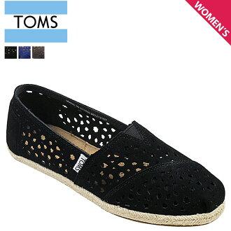 汤姆斯鞋 Toms 鞋妇女滑摩洛哥抠出妇女经典摩洛哥切出经典皮革汤姆斯 Toms 鞋新 3 色