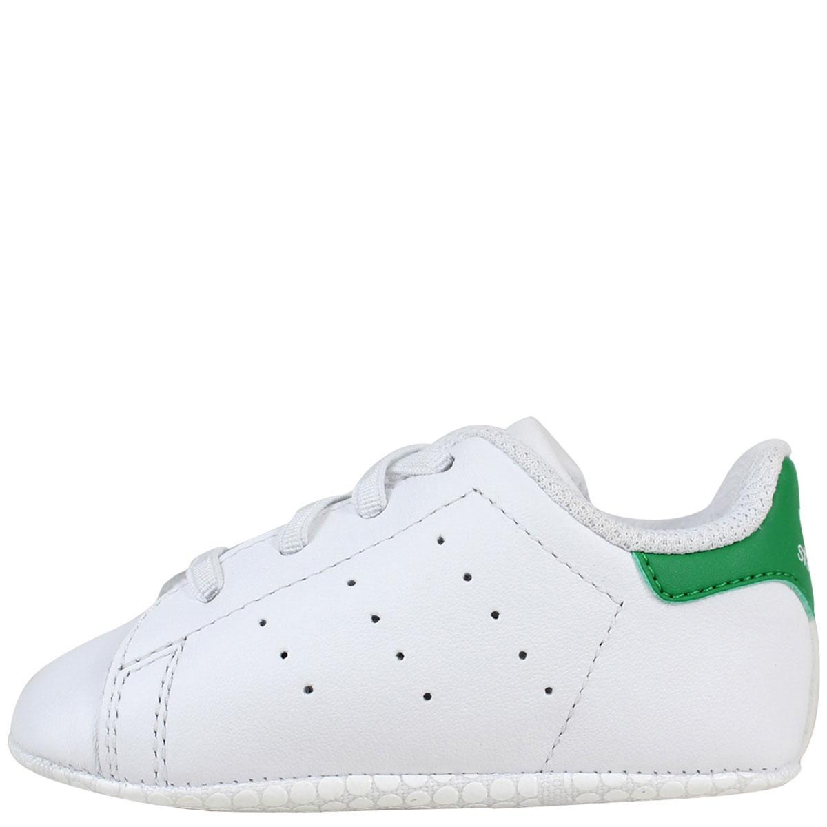 adidas Originals STAN SMITH CRIB スタンスミス キッズ ベビー アディダス オリジナルス スニーカー 靴 B24101 ホワイト [8/14 追加入荷] [188]