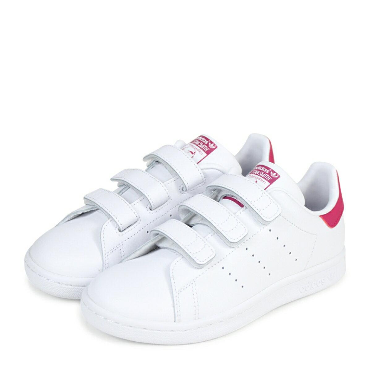 adidas Originals STAN SMITH CF C スタンスミス キッズ アディダス オリジナルス スニーカー B32706 靴 ホワイト [184]