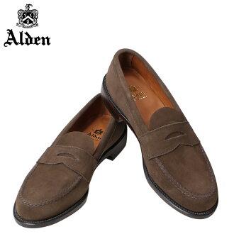ALDEN奥尔登低毛皮人鞋HANDSEWN FLEX PENNY LOAFER WITH UNLINED VAMP D怀斯6245F[1/13新进货]