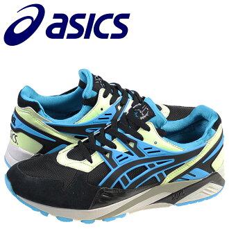 ASICS asics GEL-KAYANO sneakers gel Kaya-suede x mesh mens 2014 new TH  442N-9041 black × blue [11 / 17 new in stock] [regular] ★ ★