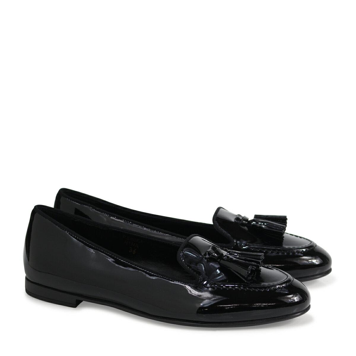 Church's NINA LOAFERS チャーチ 靴 レディース ローファー ブラック DS0001 [183]
