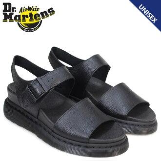 博士馬丁涼鞋女士人Dr.Martens皮革ROMI PEBBLE 22095001黑色[3/29新進貨]