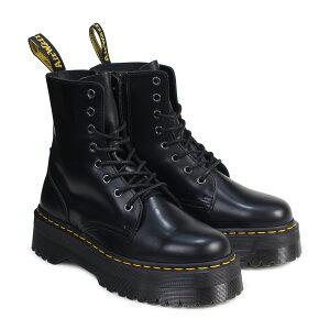 JADON SMOOTH LEATHER PLATFORM BOOTS BLACK POLISHED SMOOTH 15265001