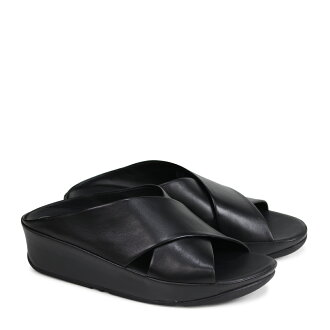 faacebe6c26e3b ALLSPORTS  FitFlop KYS SLIDE SANDALS sandals fitting FLOP Keith slide  Lady s E29 black  4 4 Shinnyu load   184