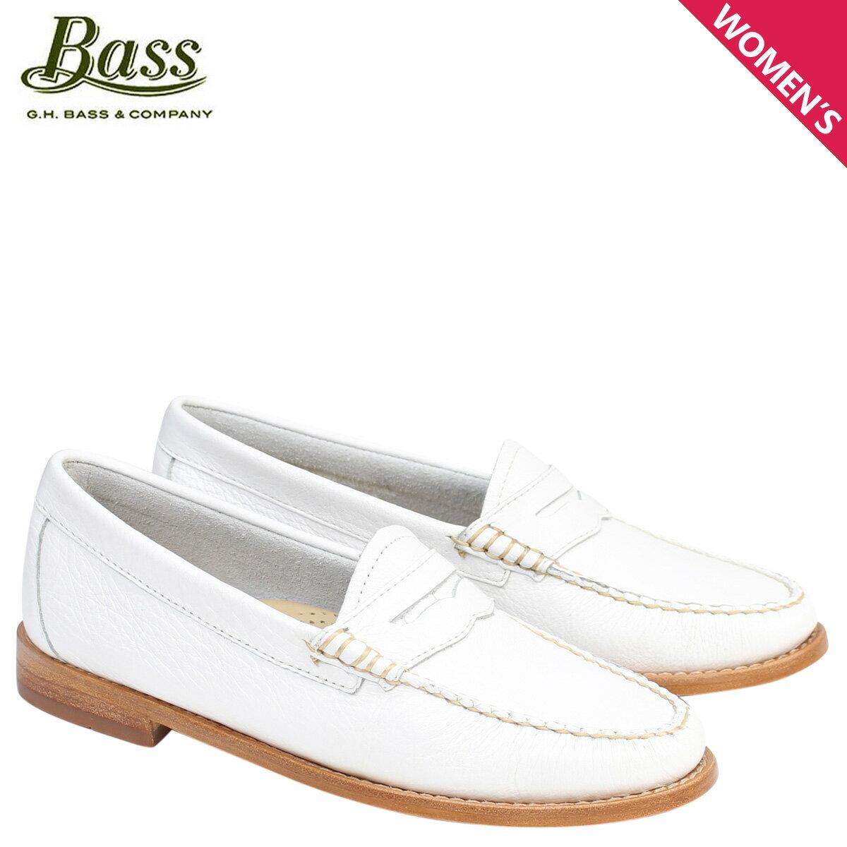 ジーエイチバス ローファー G.H. BASS レディース WHITNEY WEEJUNS 71-22830 靴 ホワイト [177]