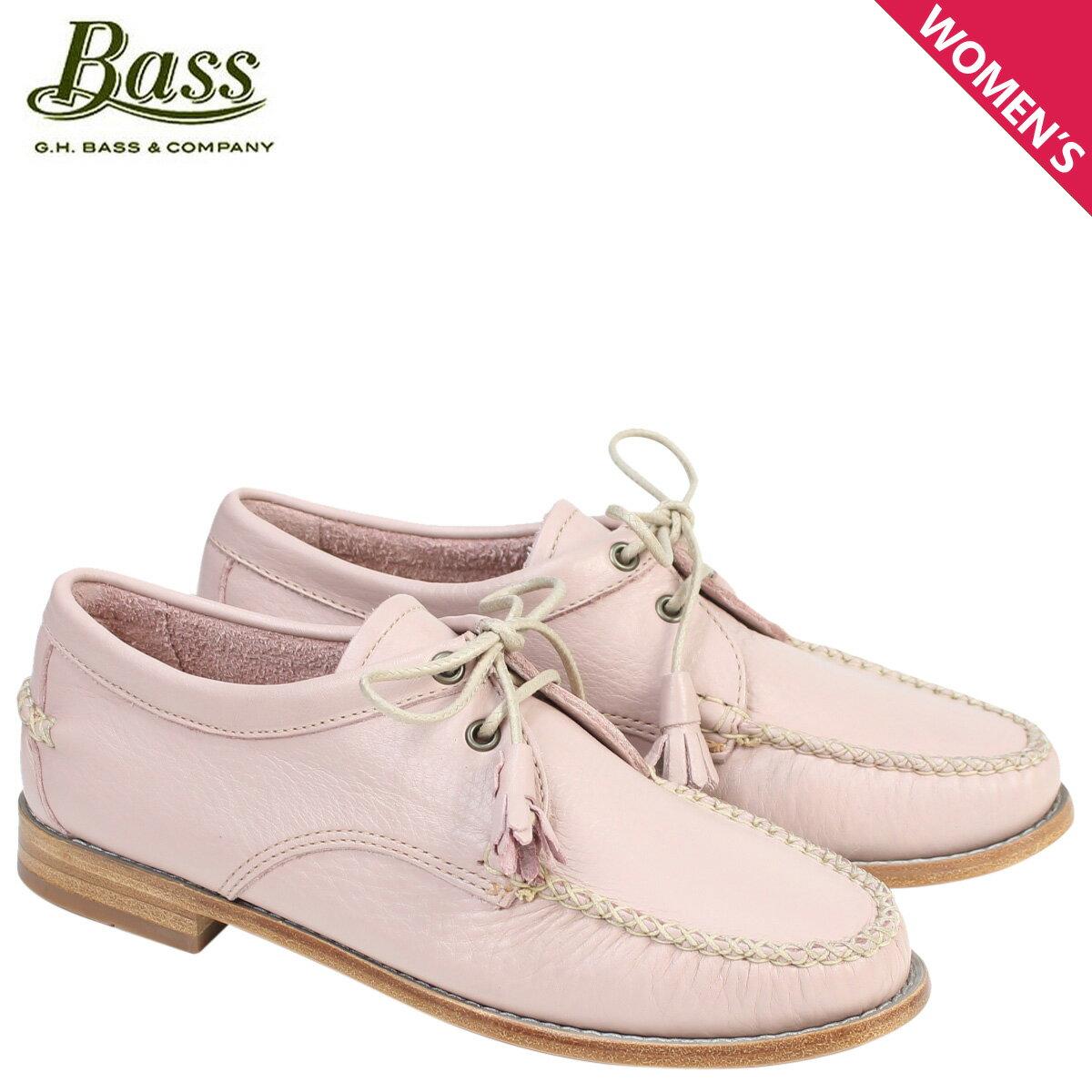 ジーエイチバス ローファー G.H. BASS レディース タッセル WINNIE TIE WEEJUNS 71-22871 靴 ピンク [177]