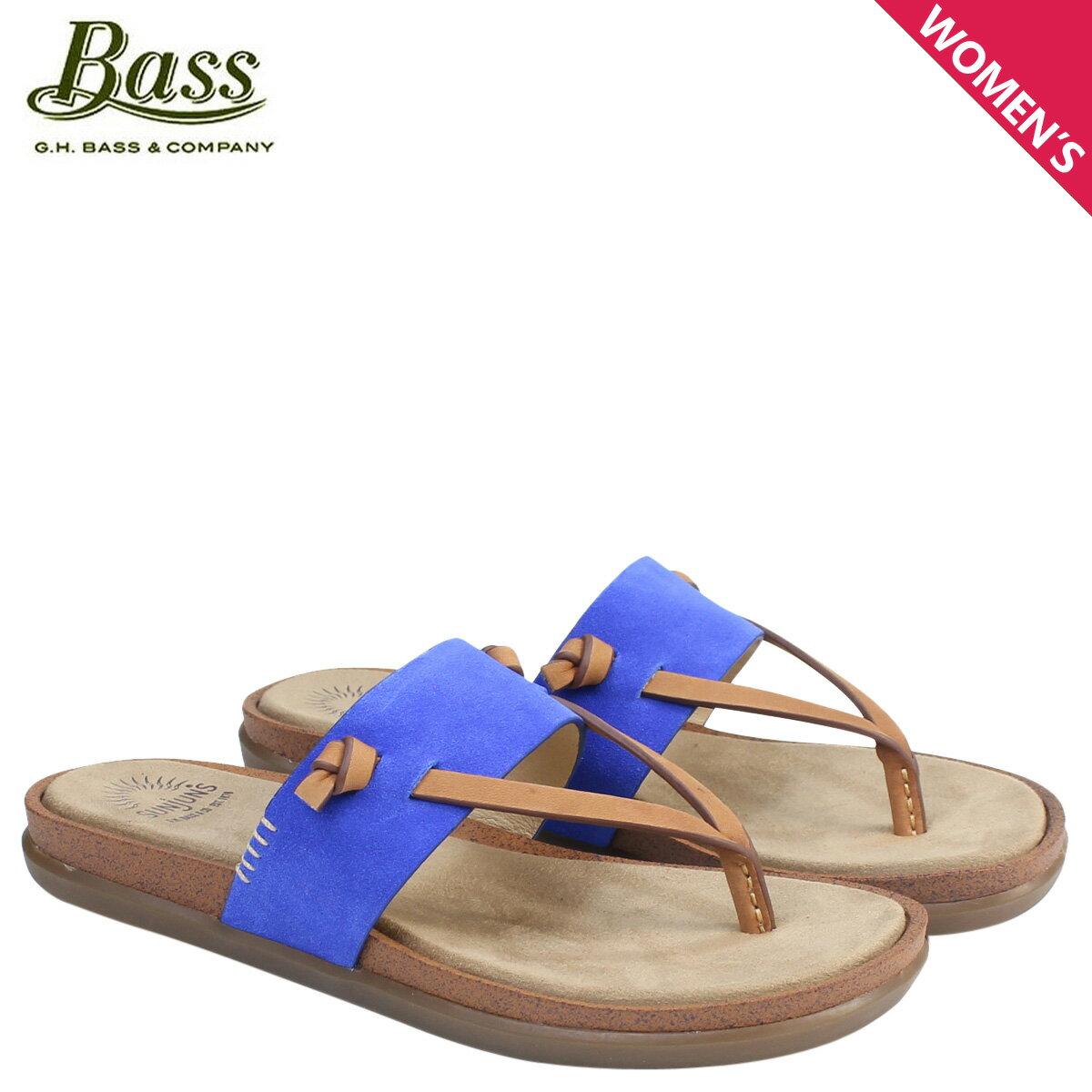 ジーエイチバス サンダル レディース G.H. BASS トング SHANNON THONG SUNJUNS 71-23016 靴 ブルー [177]