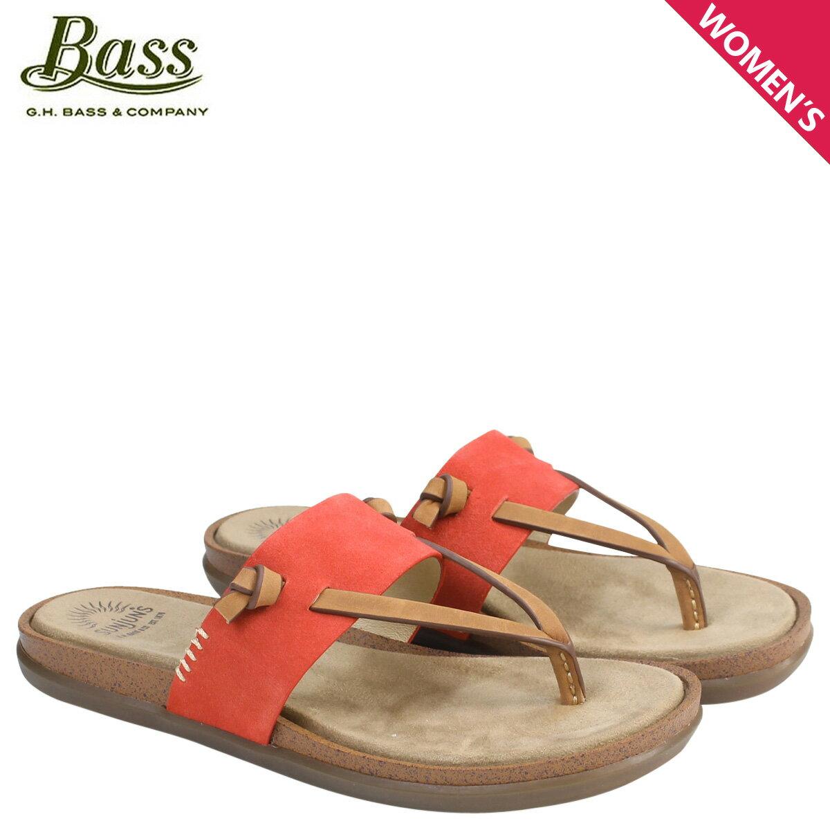 ジーエイチバス サンダル レディース G.H. BASS トング SHANNON THONG SUNJUNS 71-23019 靴 オレンジ [177]