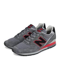 new balance M996BSN新平衡996男子的運動鞋D懷斯MADE IN USA灰色[6/16新進貨][186]