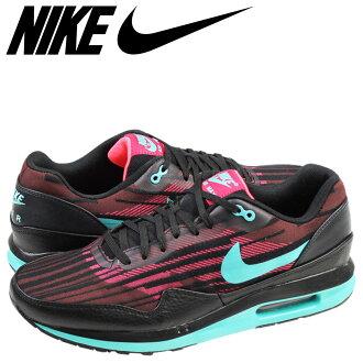 NIKE Kie Ney AMAX sneakers AIR MAX LUNAR 1 JCRD Air Max luna 1 jacquard 654,467-600 men's shoes black red