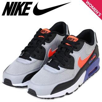 Nike NIKE Air Max Lady's sneakers AIR MAX 90 MESH Air Max 833,418-002 shoes gray [1/20 Shinnyu load]