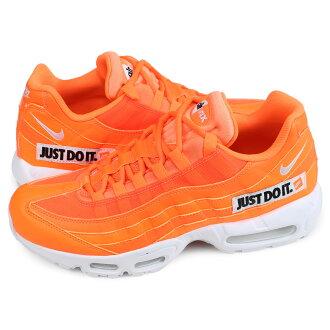 8f1423c5d1 ALLSPORTS: Nike NIKE Air Max 95 sneakers men AIR MAX 95 SE JUST DO IT  orange AV6246-800 [5/16 reentry load] [195] | Rakuten Global Market