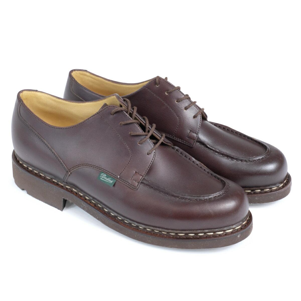 PARABOOT CHAMBORD パラブーツ シャンボード シューズ チロリアンシューズ 710707 メンズ 靴 ブラウン [1711]
