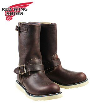 Red Wing SHOES RED WING Engineer Boots ENGINEER BRIAR OIL SLICK D wise leather men's workboots 2970 Brown [4 / 13 new stock] [regular]