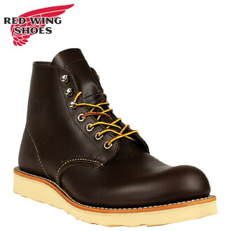 [SOLD OUT]红翅膀RED WING airisshusettabutsu 6INCH ROUND TOE 6英寸局二D怀斯8132红翅膀人