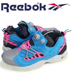 ReebokポンプフューリースニーカーリーボックINSTAPUMPFURYROADTRAR0013メンズ靴ターコイズ[8/9新入荷][178]
