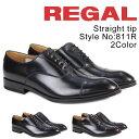 REGAL 811R AL 靴 メンズ リーガル ビジネスシューズ ストレートチップ [12/22 追加入荷]