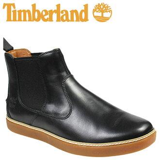天伯倫天伯倫衛士墓碑切爾西靴子衛士 HUDSTON 切爾西鞋皮革男 9652A 黑色