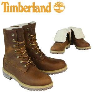 Timberland ティンバーランド HERITAGE FOLD-DOWN WARM FLEECE LINED BOOT ブーツ ヘリテージ フォルドダウン フリース ライン A118Y ブラウン メンズ