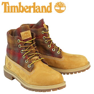 b464149b6a ALLSPORTS  «Soon» «12   25 days stock» Timberland Timberland PENDLETON  women s JUNIOR ROLL TOP boots roll top boots Pendleton A13O6 M wise wheat