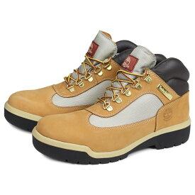 Timberland FIELD BOOT F/L WP ティンバーランド フィールド ブーツ メンズ 防水 ウィート ベージュ A18RI [2/14 追加入荷]